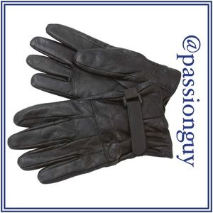 Other - Solid Genuine Lambskin Leather Driving Gloves
